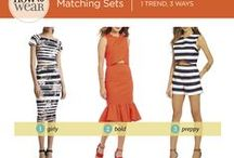 How to Wear - Matching Sets