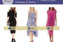 """How to Wear"" Midi-Length Dresses & Skirts"