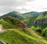 Green Spain Cycling / The northern coastal regions Euskadi, Cantabria and Asturias of Spain.