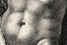 engraving / engraving etching print / гравюра