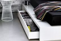 Bedroom Storage Ideas / Imagine a bedroom without any storage! We take a look at some of our favourite bedroom storage ideas ranging from walk in wardrobes, to bedside tables to beautiful, elegant storage boxes. You'll be sure to find something on this board that you'll love. www.ergoflex.co.uk