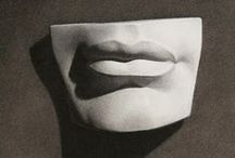 academic drawing plaster models & sculpture / drawing plaster sculpture / академический рисунок гипсовых моделей