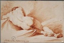 academic drawing (lying position)