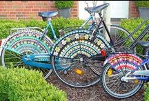 Crochet bicycle