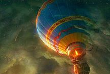 Aircraft,Dergibles,parachutes,balloonsetc. / Anything flying / by Joe Saffa