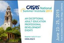 Summer Institute / Gather and Network with Your Colleagues at the National CASAS Summer Institute in San Diego, California
