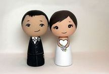Wedding caketopper