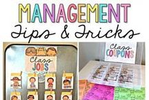 Classroom Management / Classroom management tips and techniques to keep kids focused on learning.  Proactive and reactive strategies, attention-grabbers, and more.