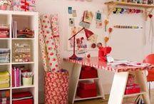 Craft room ideas / Ötletek a KreaKuckómhoz