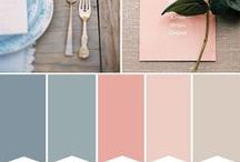 Wedding paster colors