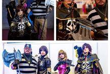 My mangas cosplays / #Cosplays from #Manga characters like #CaptainHarlock #Seiya #PegasusGodCloth #OdinCloth #PolarisHilda