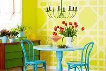 Χρώματα - Τεχνοτροπίες  - ιδέες βαψίψατος / Ότι θα θέλατε να μάθετε για χρώματα και τεχνοτροπίες για να βάψετε και να απογειώσετε την διακόσμηση του σπιτιού σας.