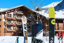 Vacances au Ski / Pour les amateurs de sports d'hiver, de paysages enneigés et de tous les bons plats qui vont avec !