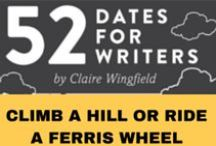 Ride a Ferris Wheel / Join my Ride a Ferris Wheel creative writing challenge from '52 Dates for Writers'. On this date we will zoom out from the scenes in your novel to experiment with your descriptive style. What will you see? For the full challenge (and 51 others) visit my website: http://www.clairewingfield.co.uk/writing-handbook/