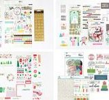 Christmas Daily / Document the holidays in December with our Christmas Daily kits.