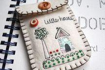 Felt crafts / Ötletek filc anyagból