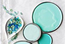 Αποχρώσεις του τυρκουάζ - Shades of turquoise / Υπέροχες ιδέες διακόσμησης σε χρώμα τυρκουάζ