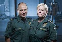 Jeff & Dixie - Casualty / Jane Hazlegrove & Matt Bardock in Casualty