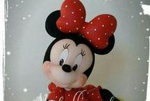 Porcelana Fría - Disney & otros personajes / Objetos de porcelana fría con temática DISNEY