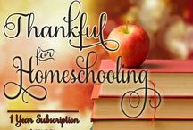Homeschooling ~ General & Misc.  / by His Mercy is New