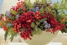 Flower arrangements/centerpieces / by Cindy Lemery