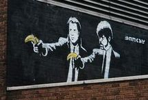 Banksy Street Art / by 8Ball T-shirts