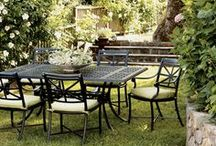 Cast and Wrought Aluminum / Masterfully crafted to combine form and function, our high-performance cast & wrought aluminum collections are hand-welded, hand-finished, highly durable and virtually maintenance-free. An excellent choice for elegant outdoor living.