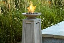 The Heat Is On / Extend the season with a patio heater or no-fuss firepit. Powered by gas, electricity or a clean-burning gel -- our easy outdoor heating solutions make it possible to enjoy the warmth at the flip of a switch.