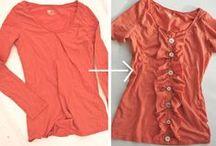 Refashioning / Clothing refashioning, upcycling