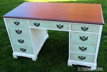 Painted Furniture etc. / Various methods of painting and staining furniture and more. / by Tracey Retzloff