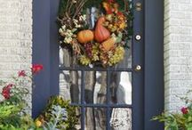 Autumn Color / Tend the garden beds before the first frost or settle indoors with a good read. Either way, these fall-inspired hues will have you thinking seasonal.