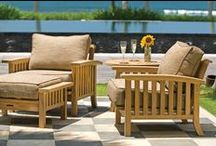 Craftsman Collection / The craftsman collection of teak dining and deep seating outdoor furniture features beefy cuts of our premium teak in an iconic mission-inspired design. At home indoors or out, craftsman dining and lounging pieces exhibit a classic design voice and supreme comfort.