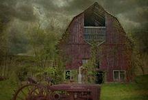 Old Barns / rustic life