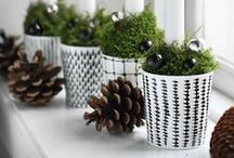 ♡ Christmas / Winter inspiration / Perfect inspiration for Christmas; some crafts and decoration ideas.