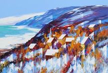 Christian Bergeron / Born in the Province of Quebec, Canada, Christian Bergeron is an artist painter with more than forty years of experience. His works are showed in the most beautiful private and corporate art collections in Canada, USA and Europe.