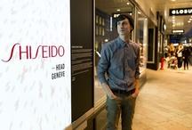 Concours vitrine Perfect Rouge Shiseido