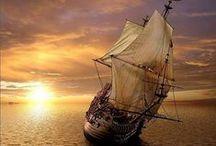 ORINOKO  FLOW / Sailing away . Tall Ships  / by Patrick Vincent