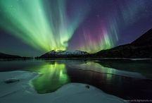 Northen Lights  / Aurora borealis / by Patrick Vincent