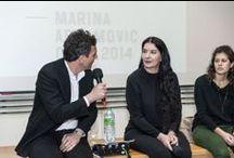 TALKING HEADS : MARINA ABRAMOVIC / Mercredi 7 mai 2014    PROJECTION DU FILM « THE ARTIST IS PRESENT »  & TALKING HEADS en conversation avec Andrea Bellini, directeur du Centre d'art contemporain Genève