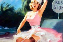 Vintage Illustration / Pulp art vintage illustration / by Patrick Vincent