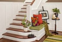 foyer & stairs / by Katy Fry