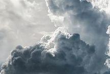 Sky, sun and clouds