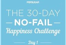 New Habits: 30 Day Challenge / 30 Day Challenge to create a new habit, home, body, or soul.