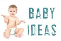 Baby Ideas / Once that little one is in your arms, you're going to have a LOT of questions (particularly the first time!). This board is to give you ideas, advice, help you laugh, and make you think. Check back often to see all the awesome baby ideas in one place!