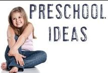 Preschool Ideas / Just shortly after those toddler years, you're going to have a preschooler on your hands! Here are tips, ideas, and activities you can try with your little preschool child whether you are a homeschooling parent, SAHM, or just someone who likes to do things with their child.