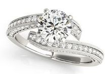 Accented Engagement Rings