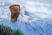 Dennis Liu / Dennis Liu paints the beauty of nature in Canada, creating highly realistic wild animals in natural settings. He trained as an artist, first under his uncle in China, then at the Fine art School in Chengdu, China. After coming to Canada 10 year ago, he enjoys painting the intricate details of the animals and nature he depicts