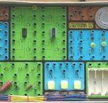 Stavebnice Logitronik 02 / Vintage electronic kit / Československá stavebnice z 80. let / Czechoslovak vintage electronic kit of 80'