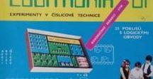 Stavebnice Logitronik 01 / Vintage electronic kit / Československá stavebnice z 80. let / Czechoslovak vintage electronic kit of 80'