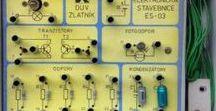 Stavebnice ES-03 / Vintage electronic kit / Československá elektronická stavebnice z 80. let / Czechoslovak vintage electronic kit of 80'